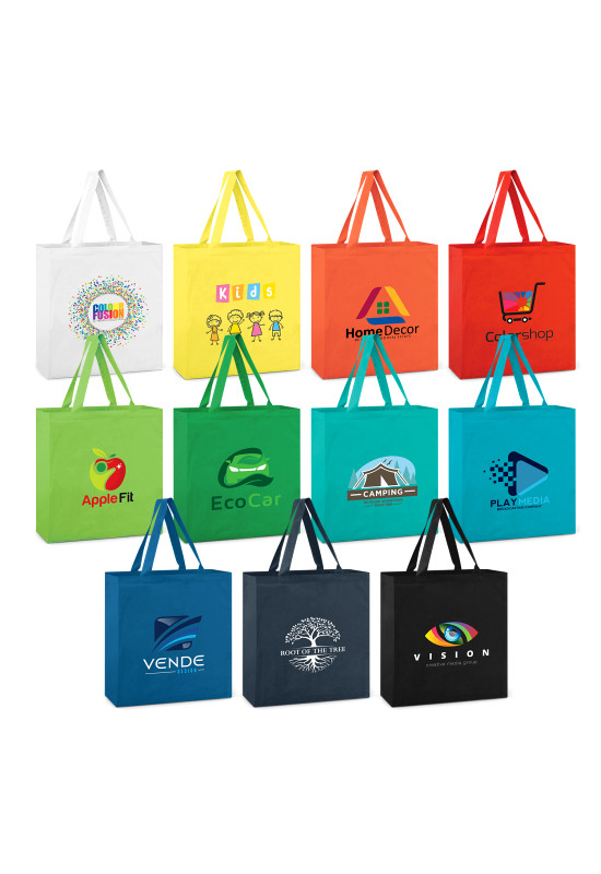 Carnaby Cotton Tote Bag - Colours  Image #1