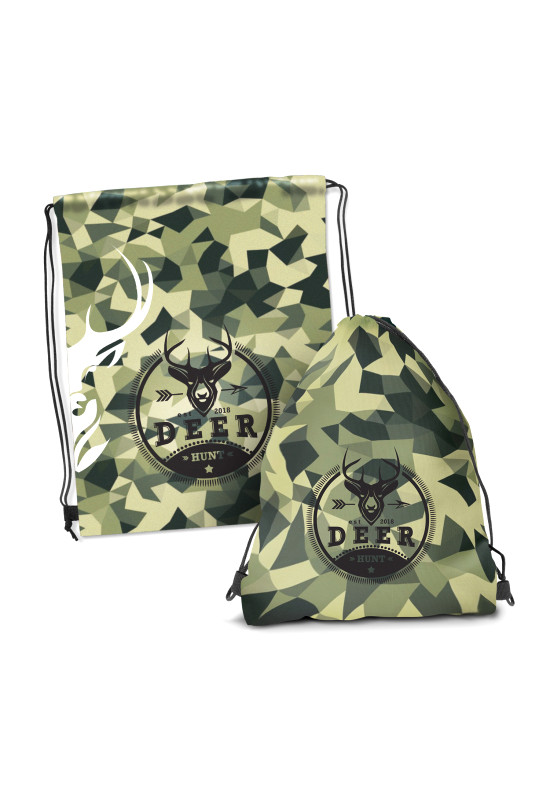 Drawstring Backpack - Full Colour   Image #1