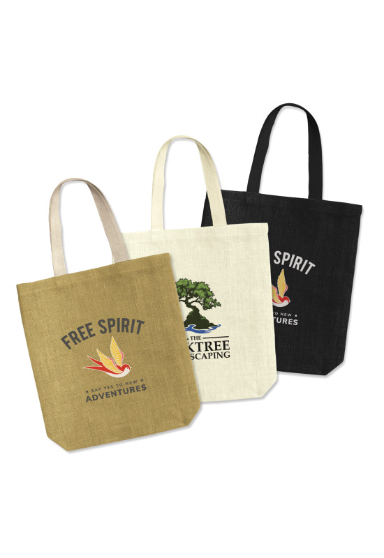 Thera Jute Tote Bag  Image #1