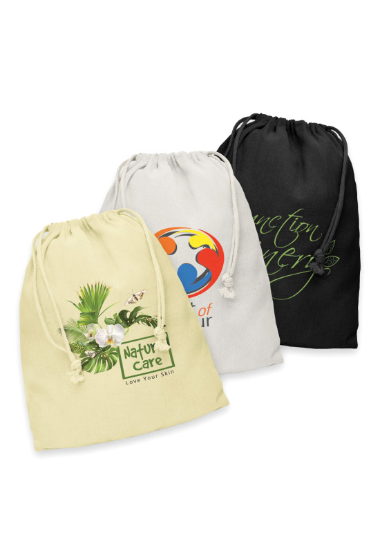 Cotton Gift Bag - Large  Image #1