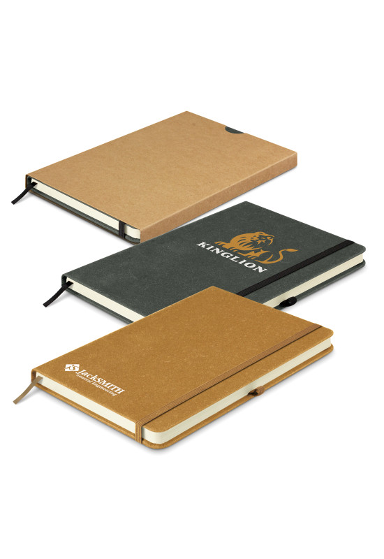 Phoenix Recycled Hard Cover Notebook  Image #1