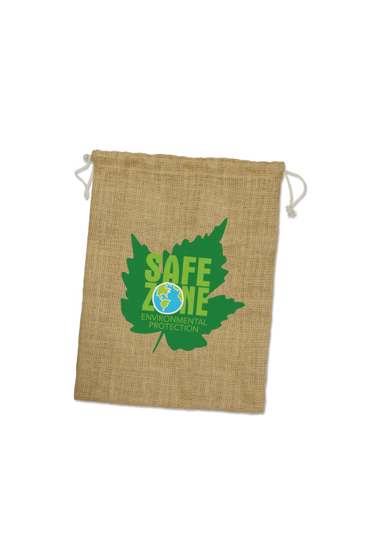 Jute Gift Bag - Large  Image #1
