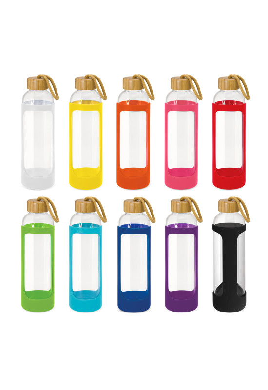 Eden Glass Bottle - Silicone Sleeve  Image #1