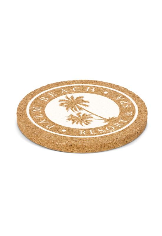 Oakridge Cork Coaster - Round  Image #1