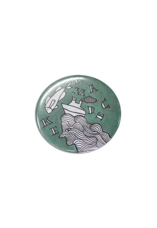 Button Badge Round - 58mm  Image #1