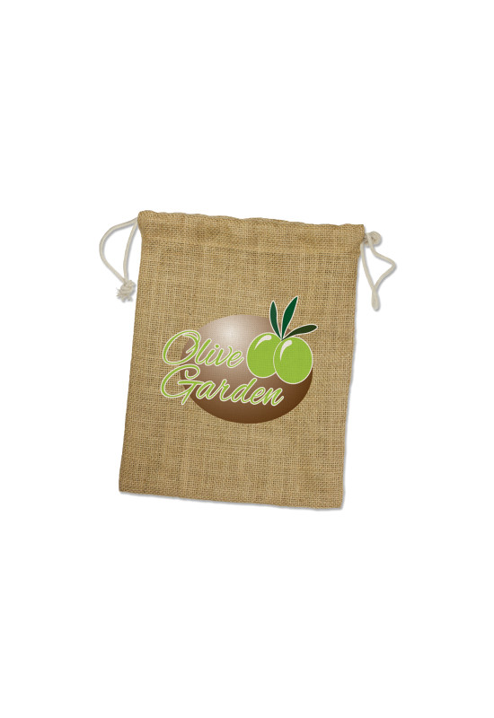 Jute Gift Bag - Medium  Image #1