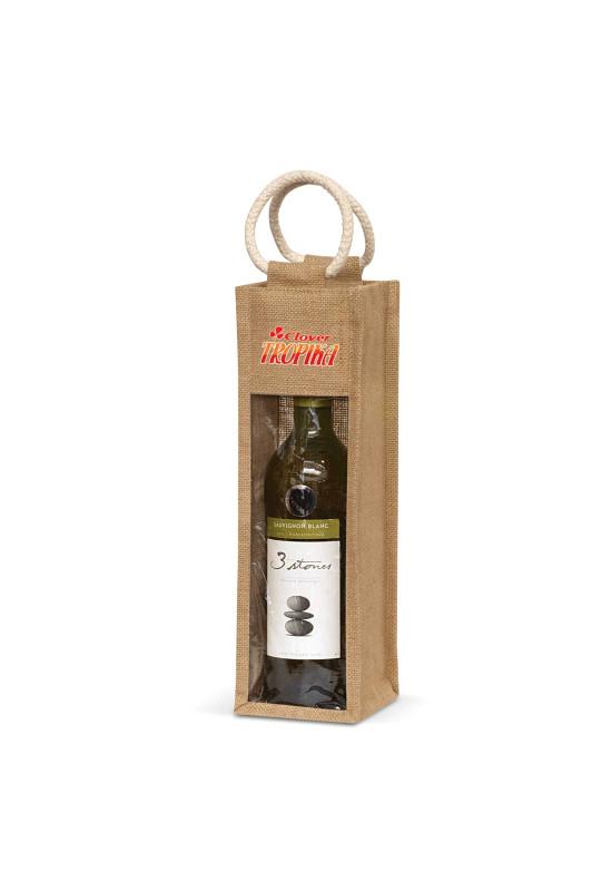 Serena Jute Wine Carrier  Image #1