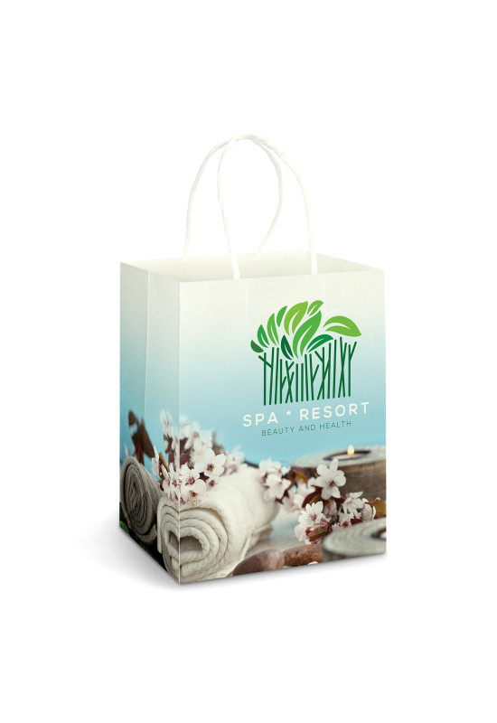 Large Paper Carry Bag - Full Colour  Image #1