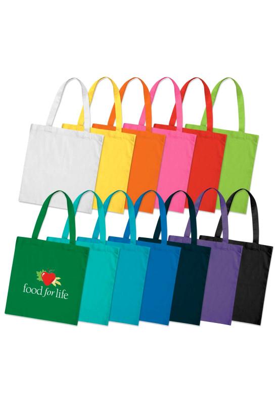 Sonnet Cotton Tote Bag - Colours  Image #1