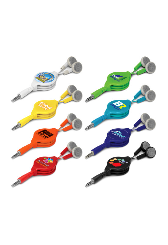 Retractable Earbuds  Image #1