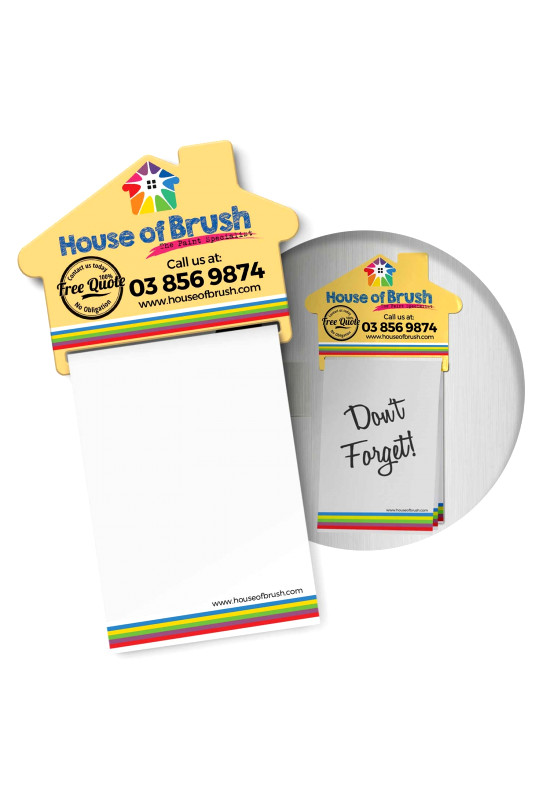 Magnetic House Memo Pad  Image #1