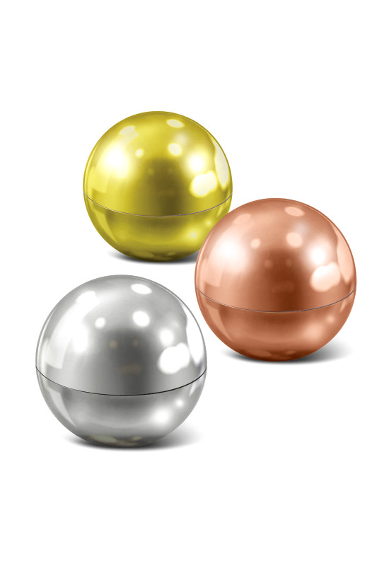 Metallic Lip Balm Ball  Image #1