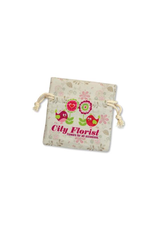 Turin Cotton Gift Bag - Small  Image #1