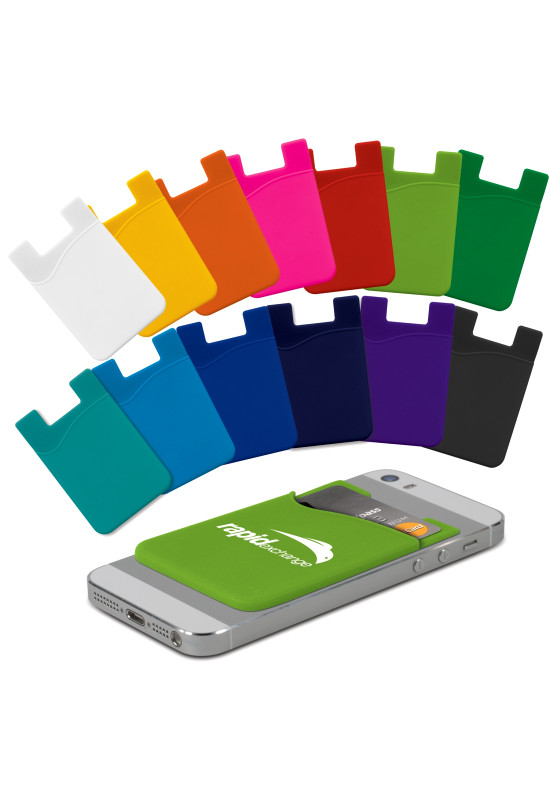 Silicone Phone Wallet - Indent  Image #1