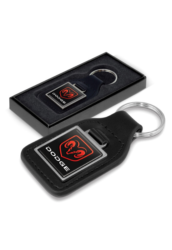 Baron Leather Key Ring - Square  Image #1