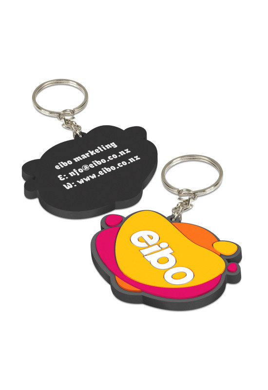 PVC Key Ring Small - One Side Moulded  Image #1