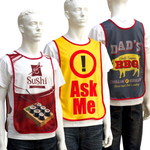 Polyester Event Bib Vests by Sublimation