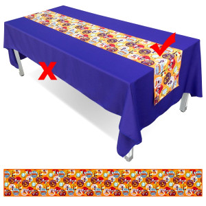 Sublimation Logo Table Runners 270x33cm