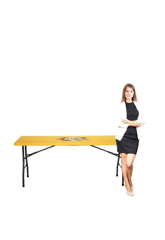 Square Stretch Table Topper