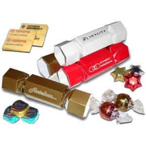 Personalised mini chocolate bon-bons