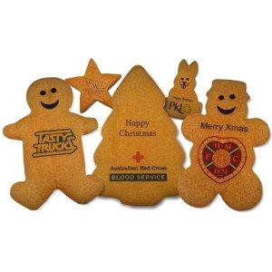 Personalised ginger cookies