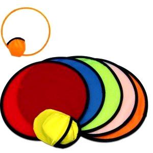 Foldable frisbees