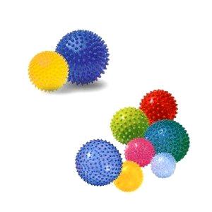 Spiked massage balls