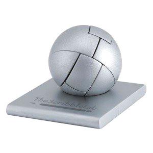 3D metal puzzle sphere