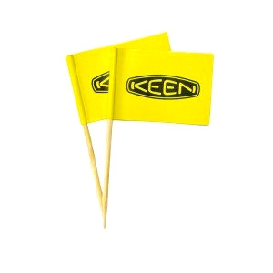 Large tooth pick flag